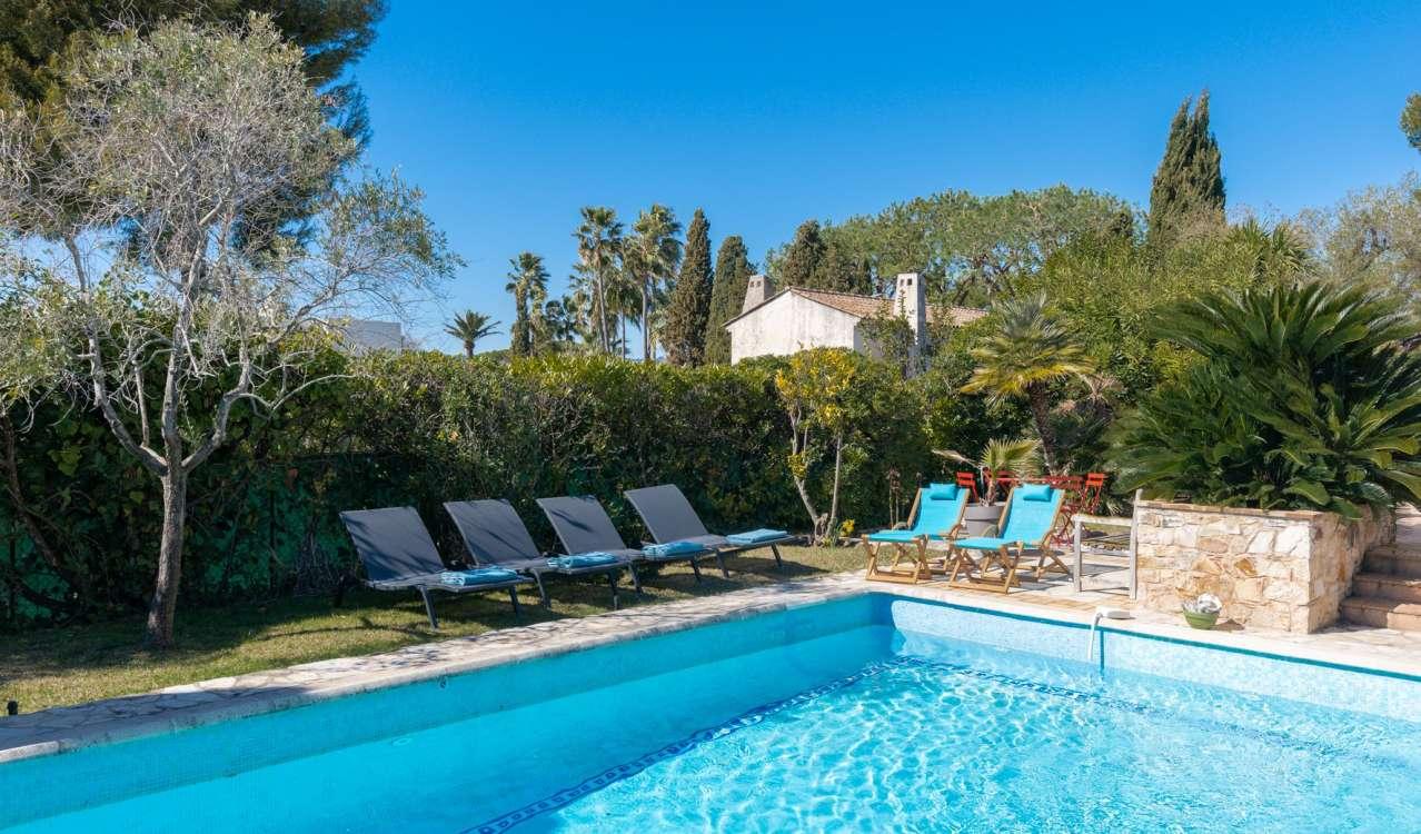 Location saisonnière Villa Cap d'Antibes