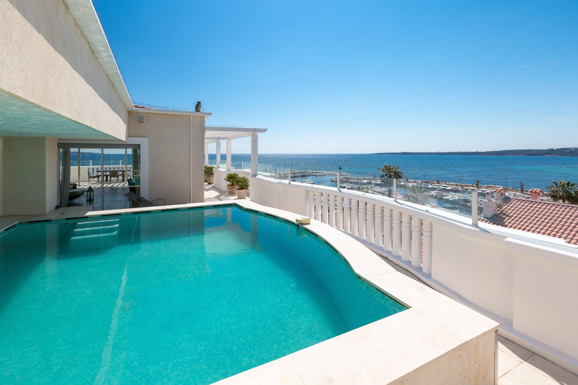 Annonce vente villa sur toit cannes palm beach 06400 7 for Interieur sud cannes