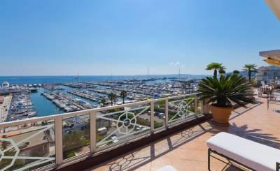 Vente Villa sur toit Golfe-Juan